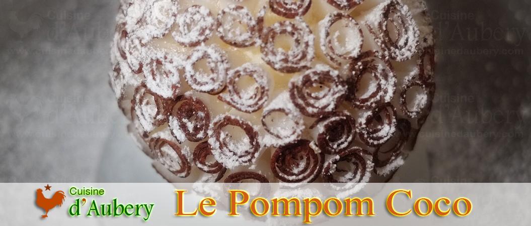 Le Pompom Coco de Cédric Grolet