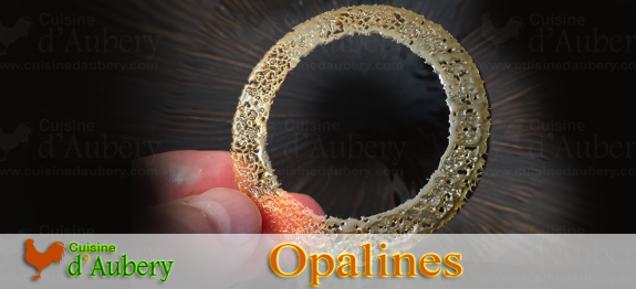 Opalines Recipe (Cake decoration)