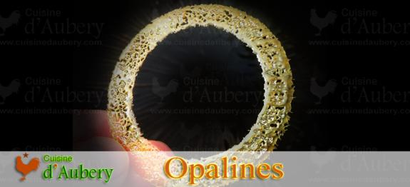Recette des Opalines (décoration pour gateaux et entremets)