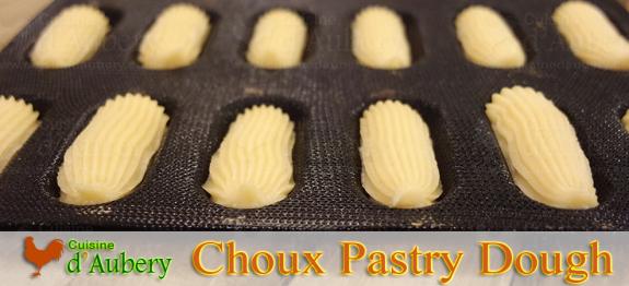 Choux pastry dough recipe - Pate a choux herve cuisine ...