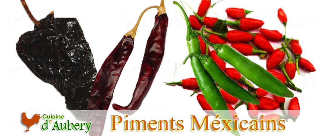 Les Piments du Mexique et d'Amérique du Sud (los chiles)