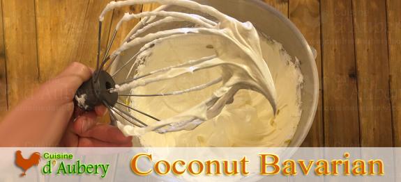 Bavarian Coconut Cream