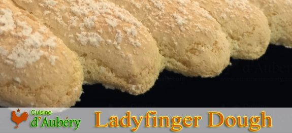 Ladyfingers dough recipe