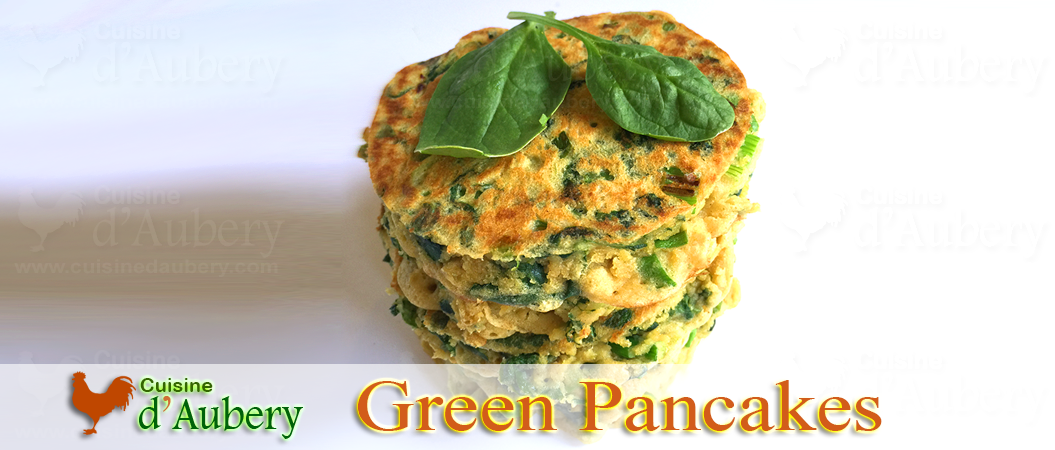 The Green Pancakes of Yotam Ottolenghi