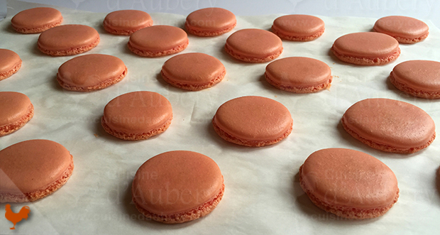 Recette des Macarons Framboise