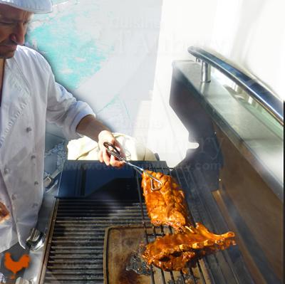 Porc Barbecue à l'Américaine