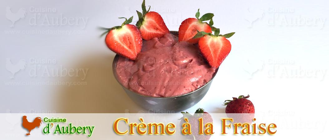 La Crème Pâtissière à la Fraise