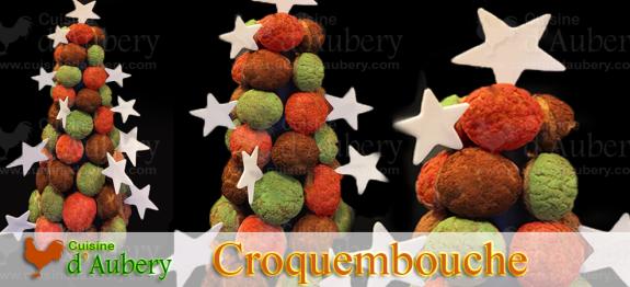 Un croquembouche multi couleurs et sans caramel, plus moderne et plus festif !