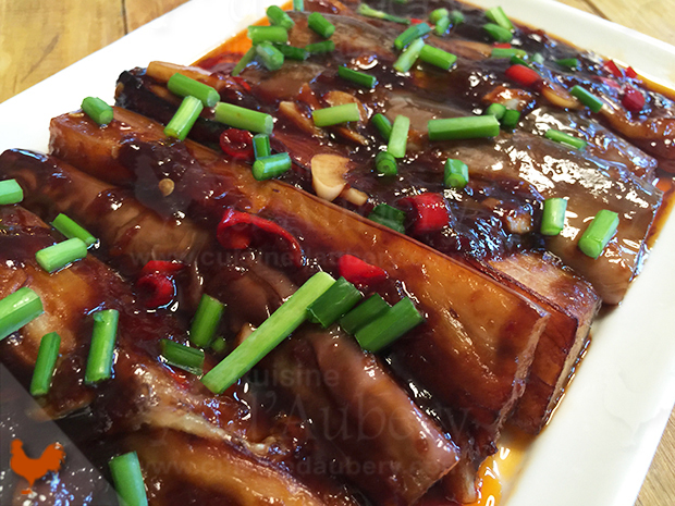Aubergines Sauce Piquante Chinoise