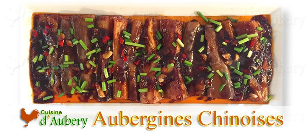Aubergines Sauce Chinoise de Qin