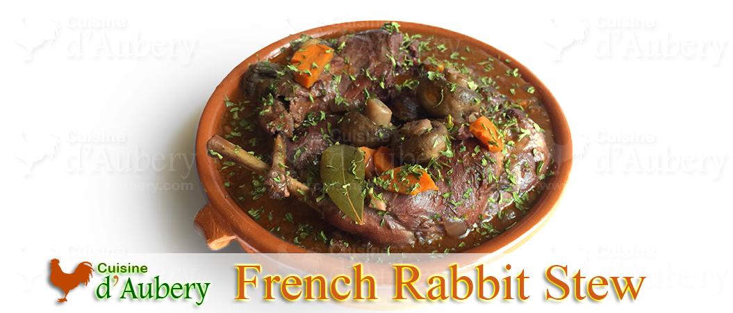 Rabbit Stew, a French delicacy