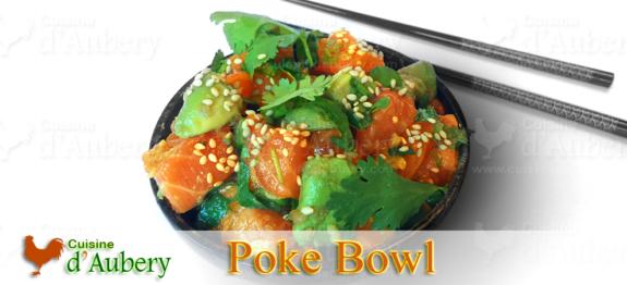 Le délicieux Poke Bowl de Poisson de Honolulu