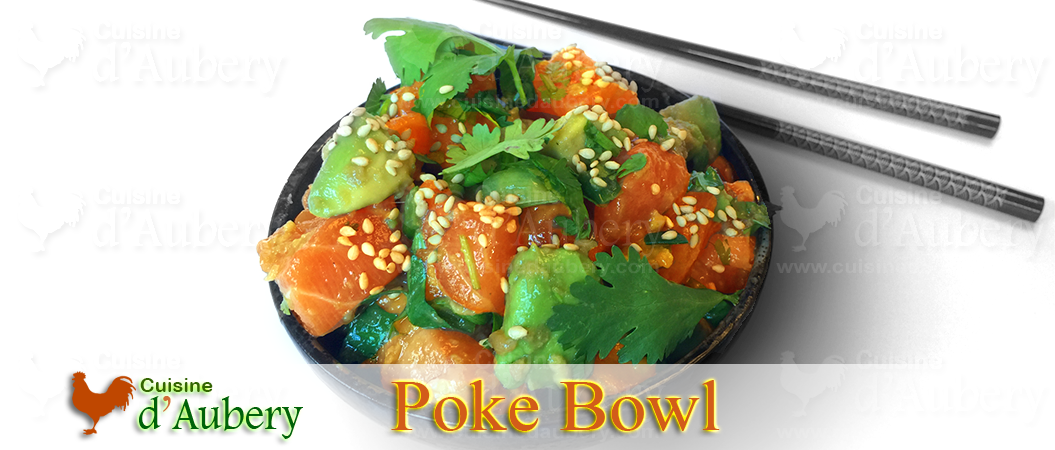 Homemade Honolulu style Poke Bowl