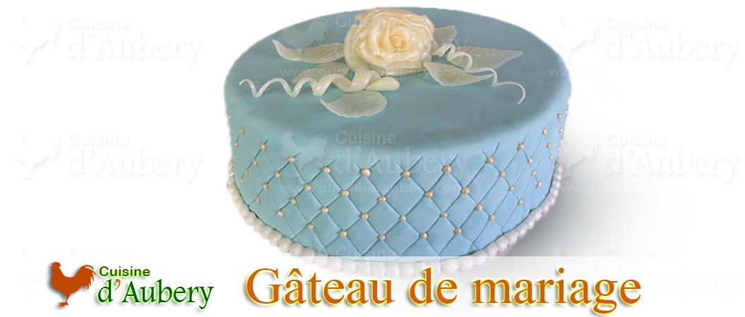 Le gâteau de mariage de Paul et Sofia