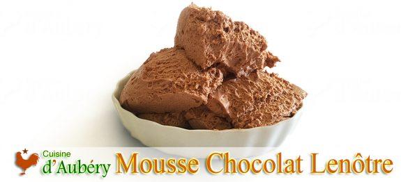 L'incroyable Mousse Chocolat de Lenôtre (méthode 1: pâte à bombe)