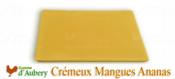 Le Crémeux Mangues Ananas de M.O.F Stéphane Glacier