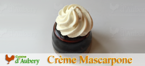 La Crème Mascarpone Rapide de Michalak