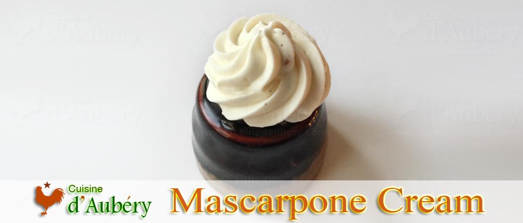 Michalak S Easy Mascarpone Cream