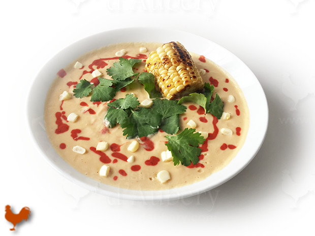 Velouté Mexicain de Maïs au Chipotlé et épices