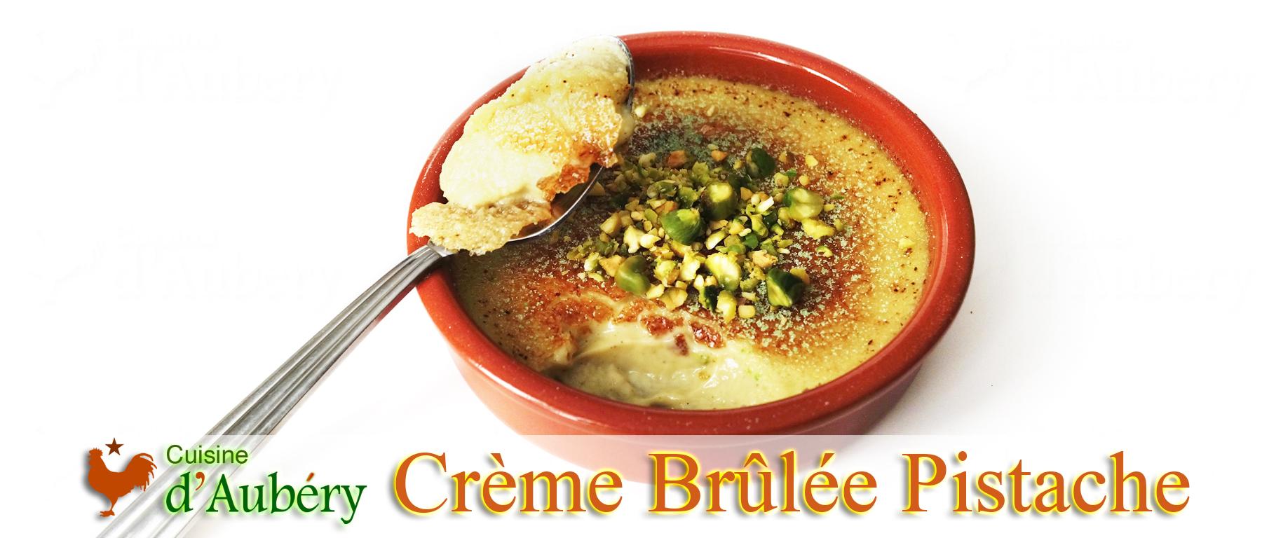La Crème Brûlée Pistache de Pierre Hermé