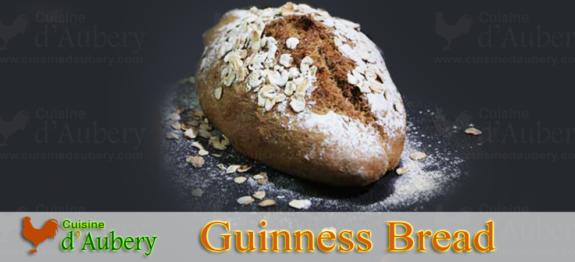 Le Pain Irlandais à la Bière Guinness (Soda Bread)
