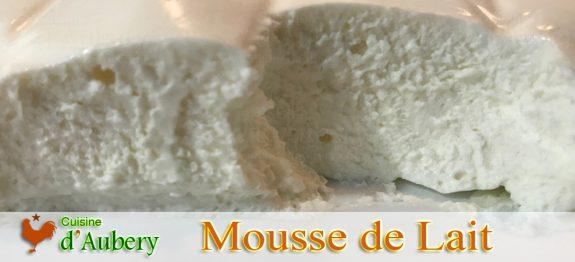 La Mousse de Lait de M.O.F Stéphane Tréand