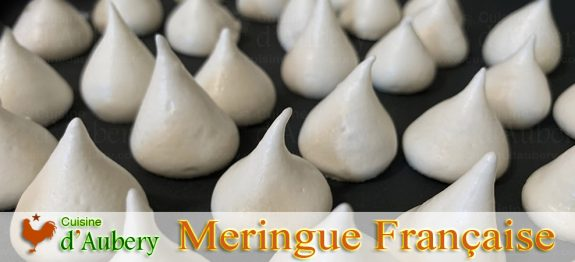 La Meringue Française Simple de Christophe Felder