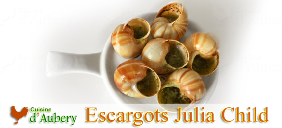 A french tradition, the Escargots by Julia Child
