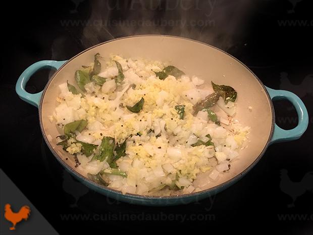 Le curry de Poisson du Kerala