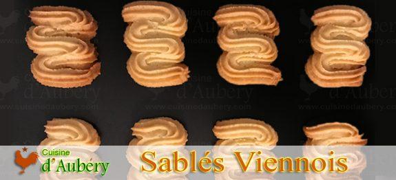 Les Sablés Viennois (sprits) de Pierre Hermé
