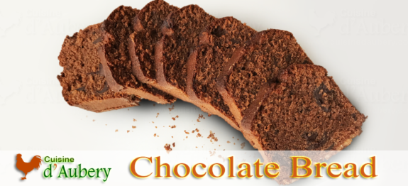 A delicious chocolate bread, perfected by the famous French chef Conticini