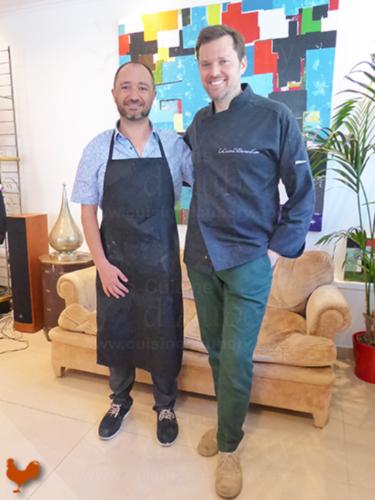 Atelier de cuisine La Cuisine de Bernard, Bernard Laurance