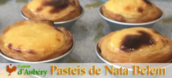 Recette des Pasteis de Nata de Bernard Laurance (méthode 2, Belem)