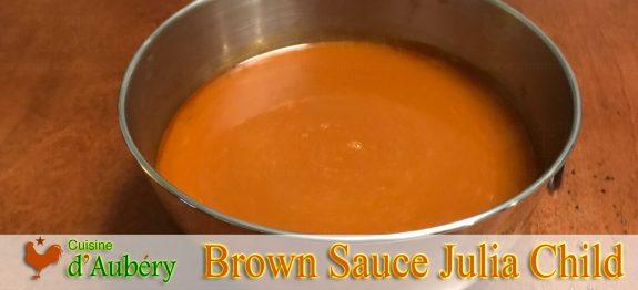 Julia Child's Brown Sauce