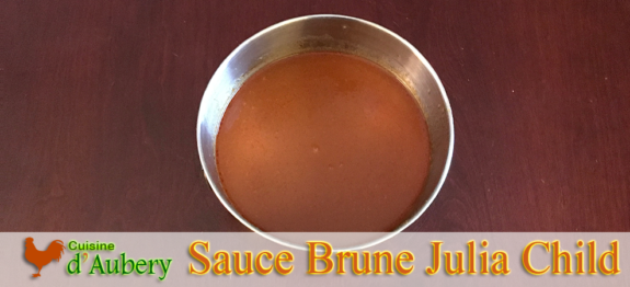 La Sauce Brune de Julia Child