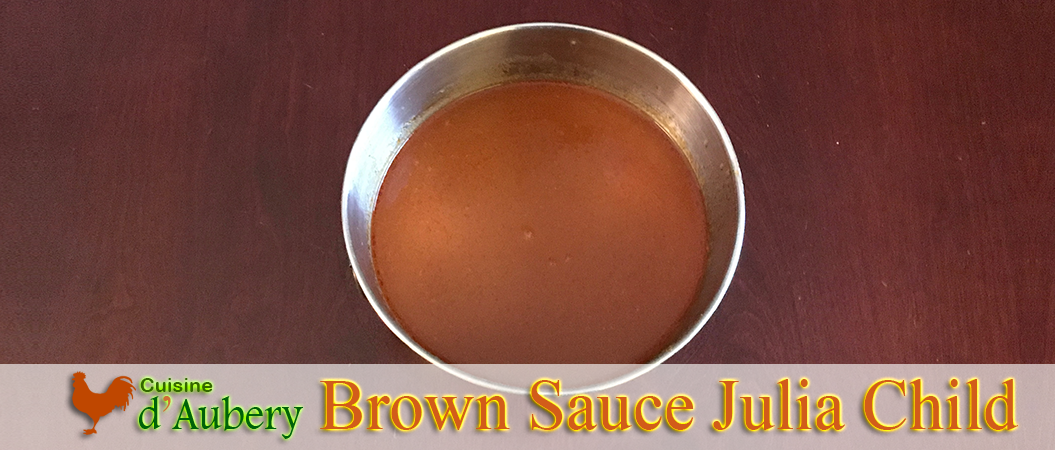 Julia Child's Brown Sauce