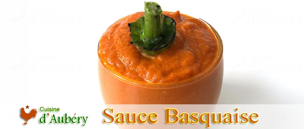 La délicieuse Sauce Basquaise de Gérald Hirigoyen