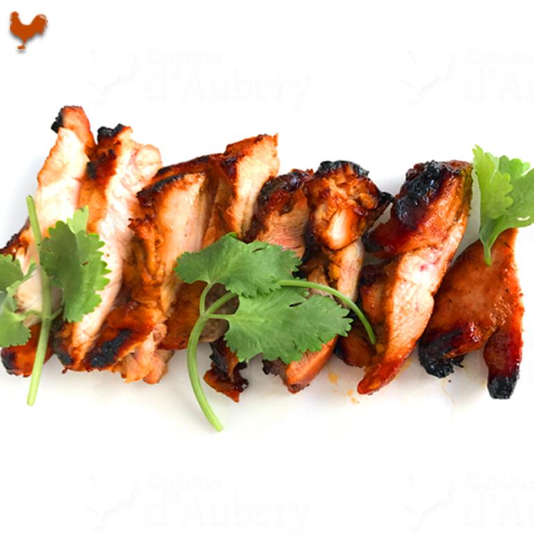 Recette du Poulet Barbecue Chinois de Qin
