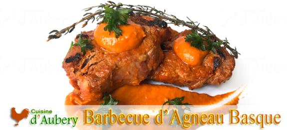 Barbecue de Côtes d'Agneau en marinade Basquaise de Gérald Hirigoyen
