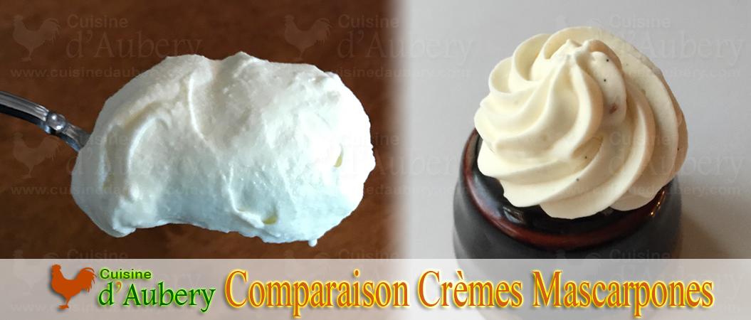 Crèmes Mascarpones : J'ai testé 3 recettes (Felder, MOF, Michalak)