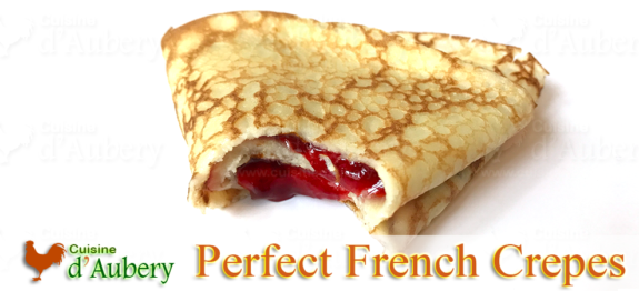 A perfect crêpes recipe that is easy and delicious, from the French star of culinary TV channels Norbert
