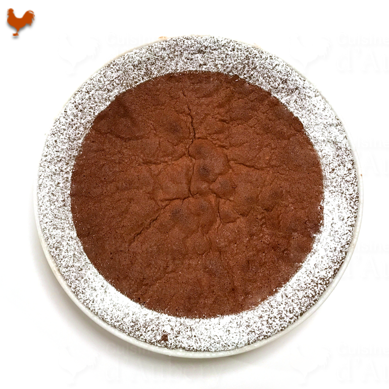 Pierre Hermé's Flourless Chocolate Cake