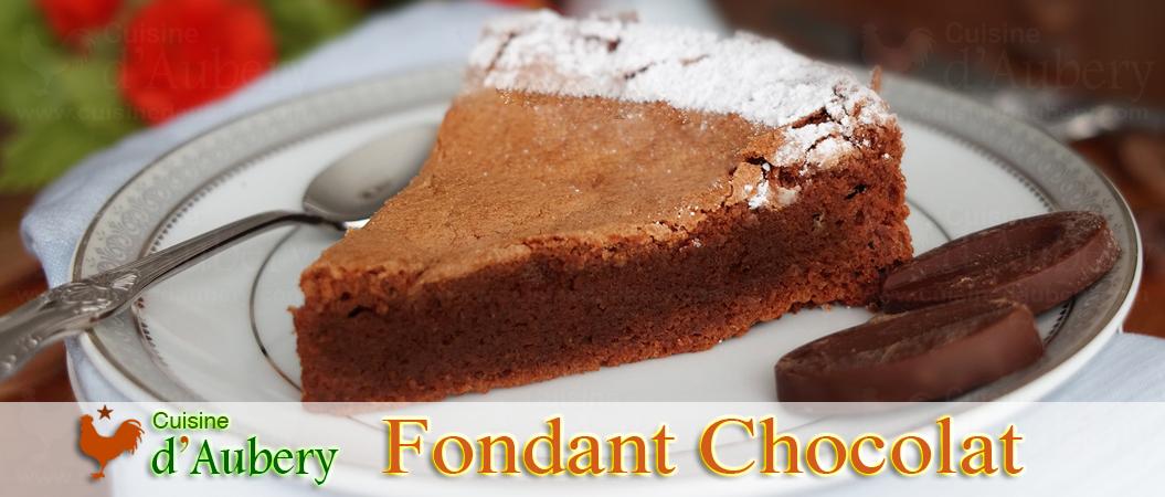Le Fondant Chocolat Sans Farine de Pierre Hermé