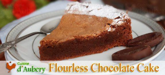 Pierre Hermé's Flourless Chocolate Cake