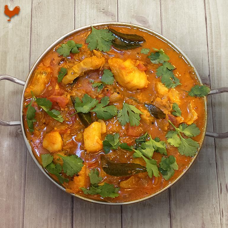 Le curry de Poisson du Kerala de Jamie Oliver