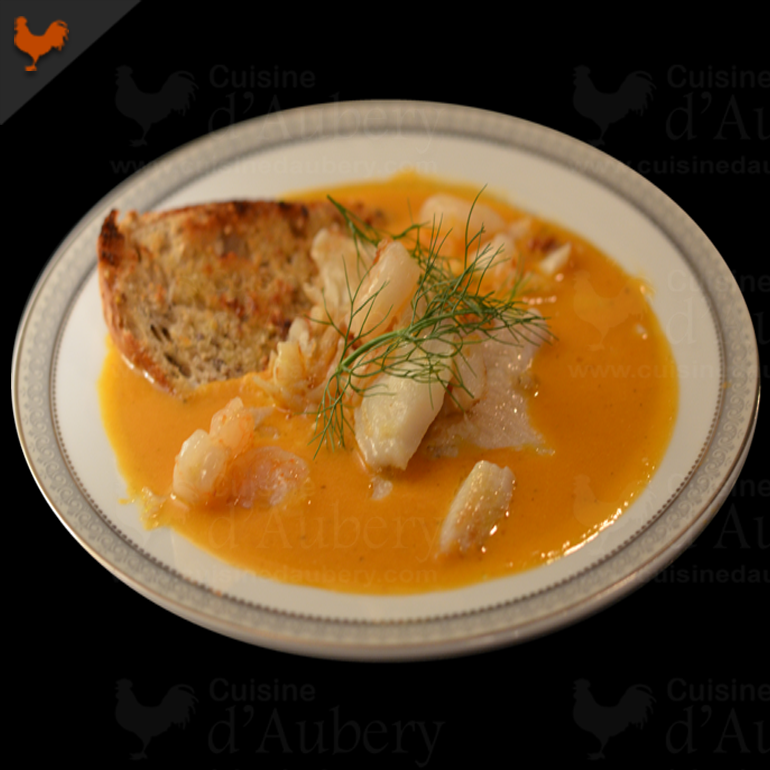 French Fish Bouillabaise (Stew)