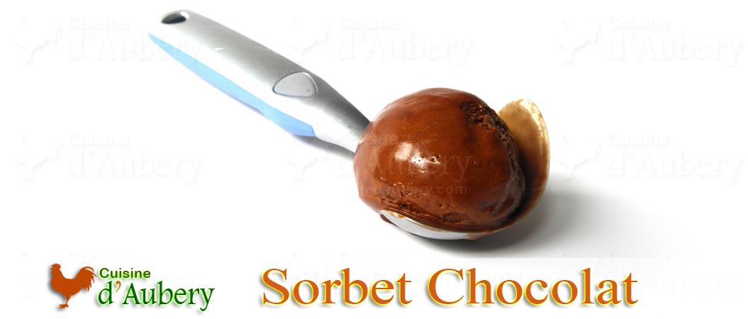 Le Sorbet au Chocolat de Pierre Hermé