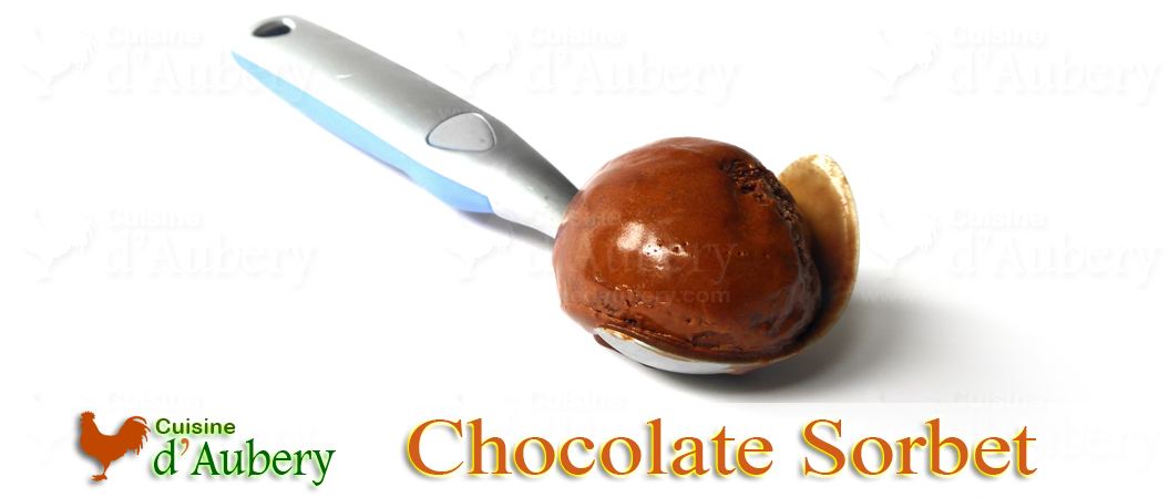 Pierre Hermé's Chocolate Sorbet