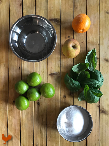 Sorbet Citron Vert Basilic
