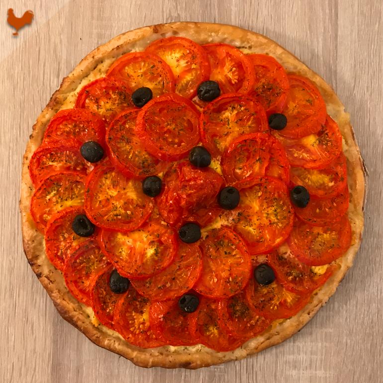 La tarte Tomates et Amandes de Yotam Ottolenghi